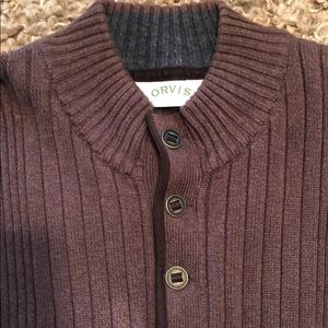 Orvis 100% Cotton Sporting Sweater